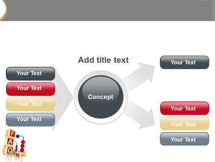 FAQ PowerPoint Template Slide 14