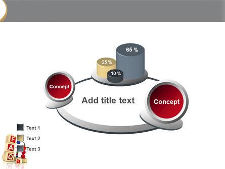 FAQ PowerPoint Template Slide 16