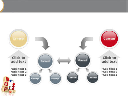 FAQ PowerPoint Template Slide 19