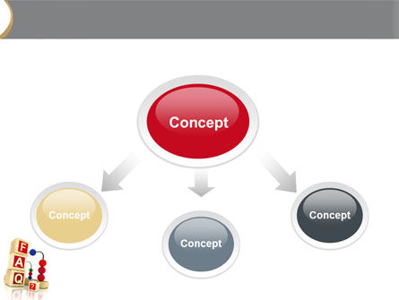 FAQ PowerPoint Template, Slide 4, 04852, Consulting — PoweredTemplate.com