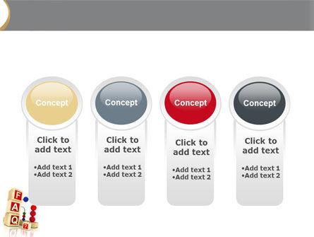 FAQ PowerPoint Template Slide 5