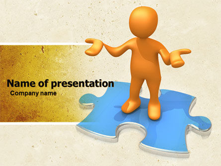 Don't Know PowerPoint Template, 04853, Consulting — PoweredTemplate.com
