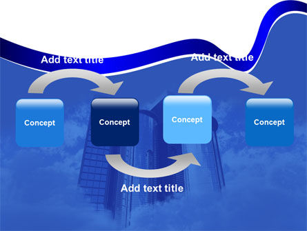 City Center PowerPoint Template, Slide 4, 04854, Construction — PoweredTemplate.com