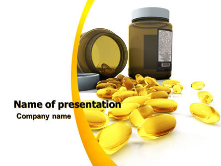 Medical: Capsules PowerPoint Template #04855