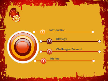 Love Pattern PowerPoint Template Slide 3