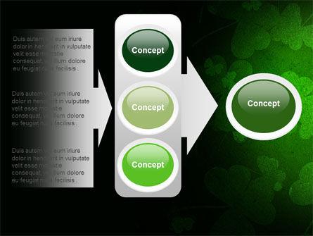 Clover Leaves PowerPoint Template Slide 11