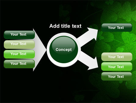 Clover Leaves PowerPoint Template Slide 14