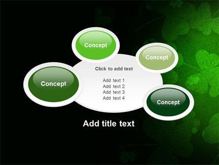 Clover Leaves PowerPoint Template Slide 16