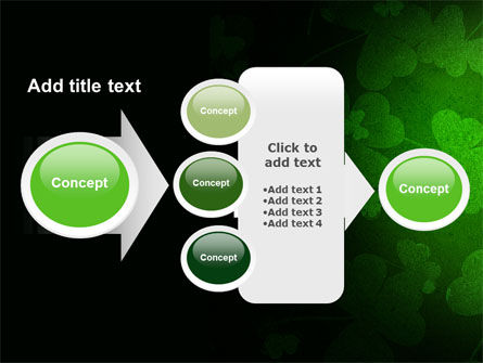 Clover Leaves PowerPoint Template Slide 17