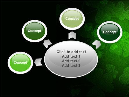 Clover Leaves PowerPoint Template Slide 7