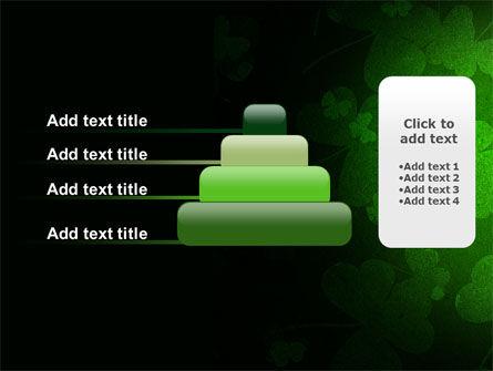 Clover Leaves PowerPoint Template Slide 8