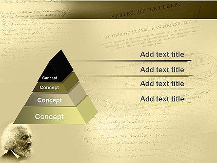 Frederick Douglass PowerPoint Template Slide 4