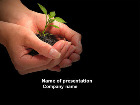 Nature & Environment: Planting PowerPoint Template #04862