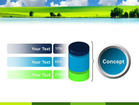 Sunny Landscape PowerPoint Template Slide 11