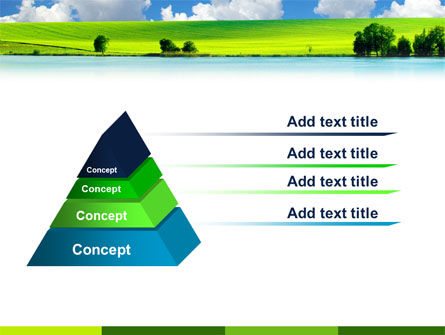 Sunny Landscape PowerPoint Template Slide 12