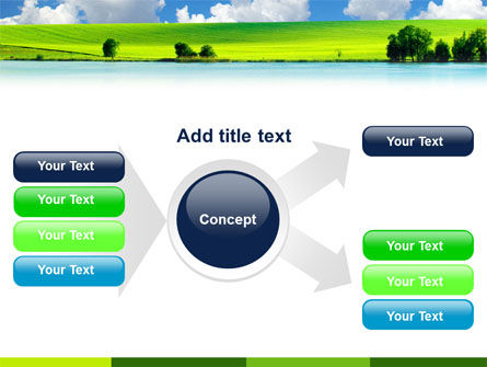 Sunny Landscape PowerPoint Template Slide 14