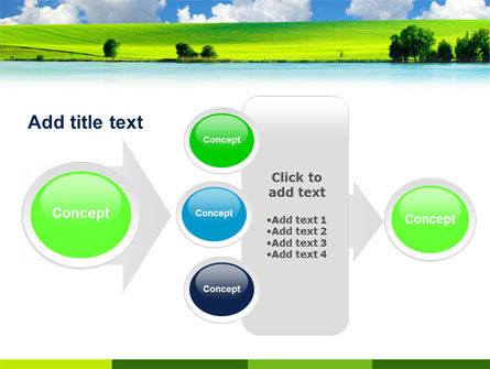 Sunny Landscape PowerPoint Template Slide 17