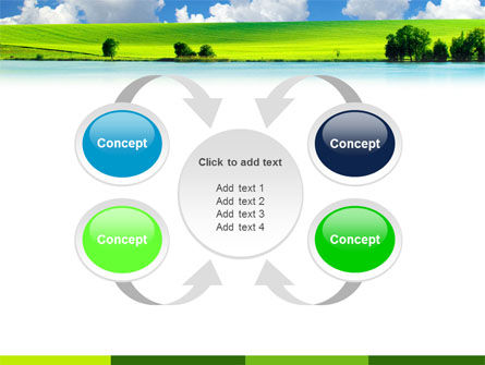 Sunny Landscape PowerPoint Template Slide 6