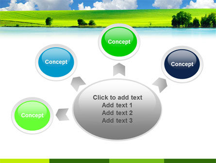 Sunny Landscape PowerPoint Template Slide 7