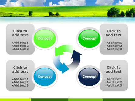 Sunny Landscape PowerPoint Template Slide 9