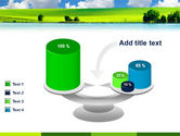 Sunny Landscape PowerPoint Template#10