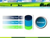 Sunny Landscape PowerPoint Template#11