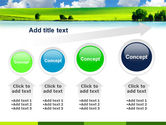 Sunny Landscape PowerPoint Template#13
