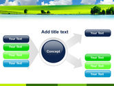 Sunny Landscape PowerPoint Template#14