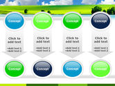 Sunny Landscape PowerPoint Template#18
