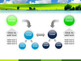 Sunny Landscape PowerPoint Template#19