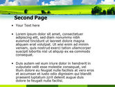 Sunny Landscape PowerPoint Template#2