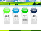 Sunny Landscape PowerPoint Template#5