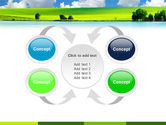 Sunny Landscape PowerPoint Template#6