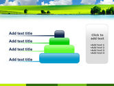 Sunny Landscape PowerPoint Template#8