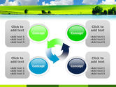 Sunny Landscape PowerPoint Template#9