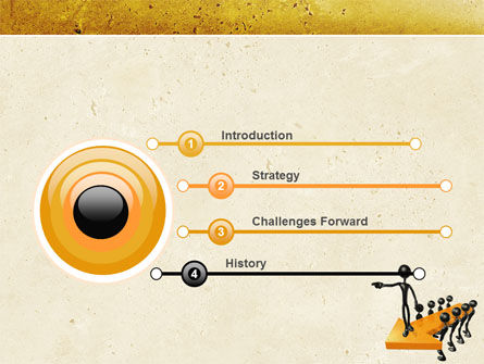 Specify Direction Of Movement PowerPoint Template, Slide 3, 04864, Business Concepts — PoweredTemplate.com