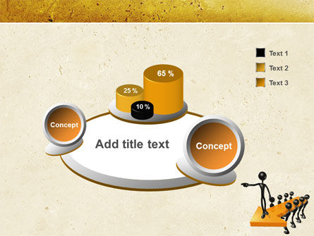 Specify Direction Of Movement PowerPoint Template Slide 6