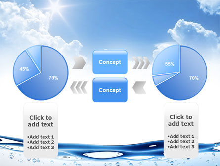 Water Wave PowerPoint Template Slide 11