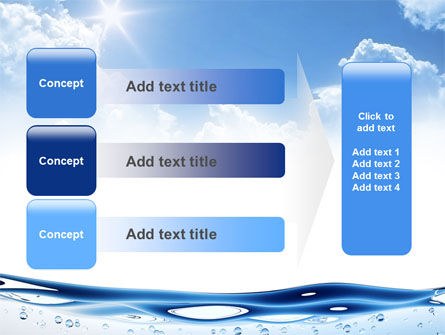 Water Wave PowerPoint Template Slide 12