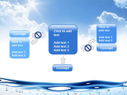 Water Wave PowerPoint Template Slide 13