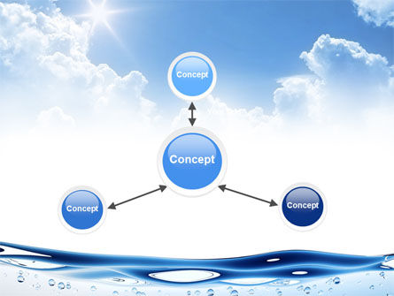 Water Wave PowerPoint Template Slide 14