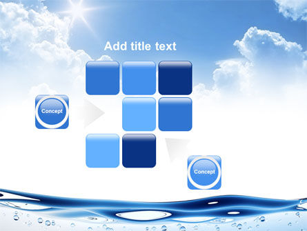 Water Wave PowerPoint Template Slide 16