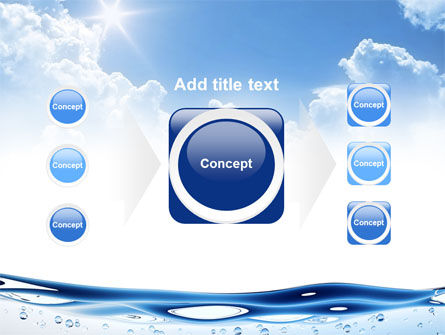 Water Wave PowerPoint Template Slide 17