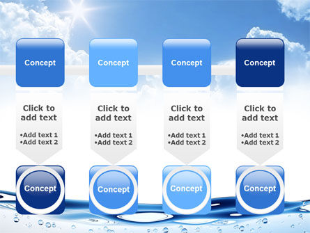 Water Wave PowerPoint Template Slide 18