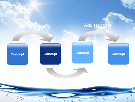 Water Wave PowerPoint Template Slide 4