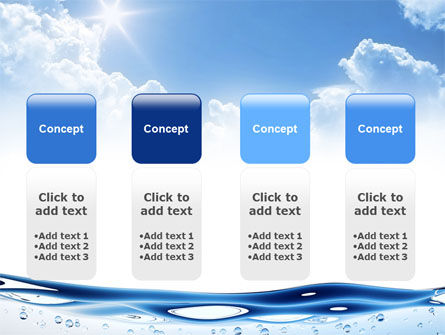 Water Wave PowerPoint Template Slide 5