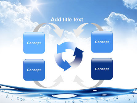 Water Wave PowerPoint Template Slide 6
