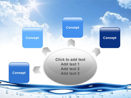 Water Wave PowerPoint Template Slide 7