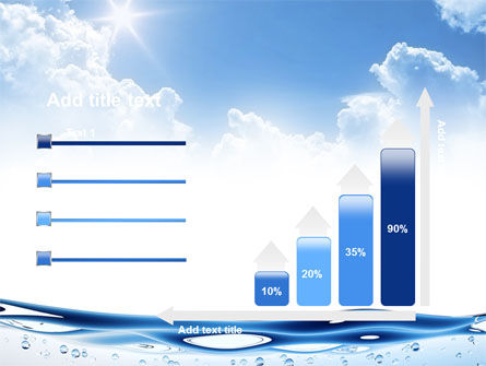 Water Wave PowerPoint Template Slide 8