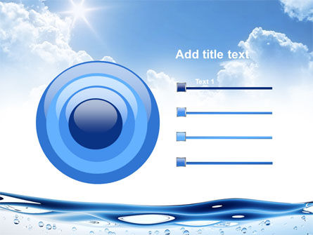 Water Wave PowerPoint Template Slide 9